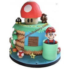 Mario playing cake (3 kg)